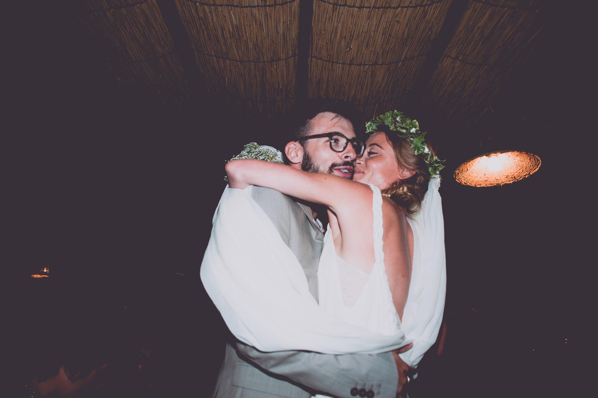 Photographe mariage bohème chic Corse Bonifacio - C et A (101)