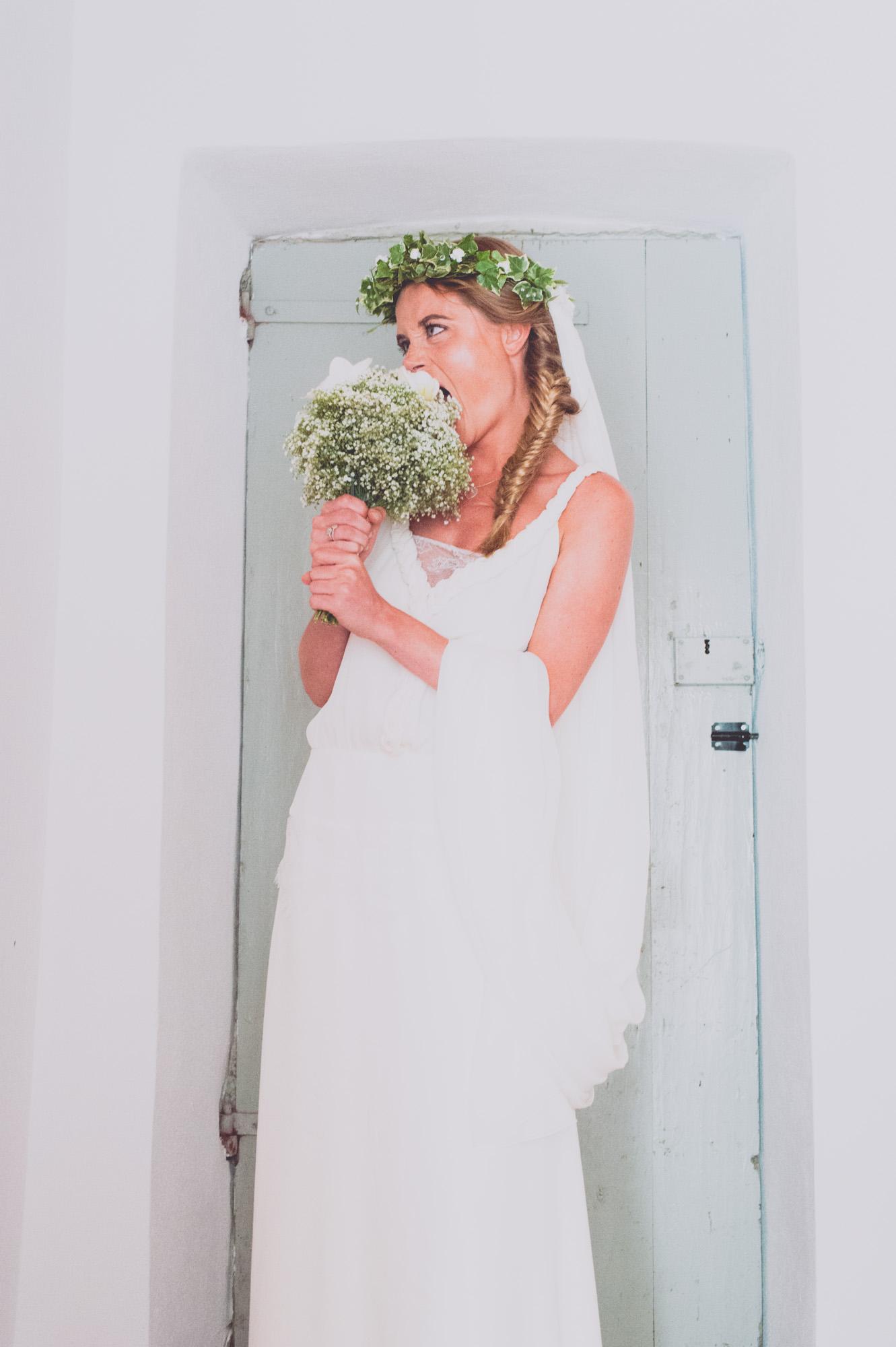 Photographe mariage bohème chic Corse Bonifacio - C et A (51)