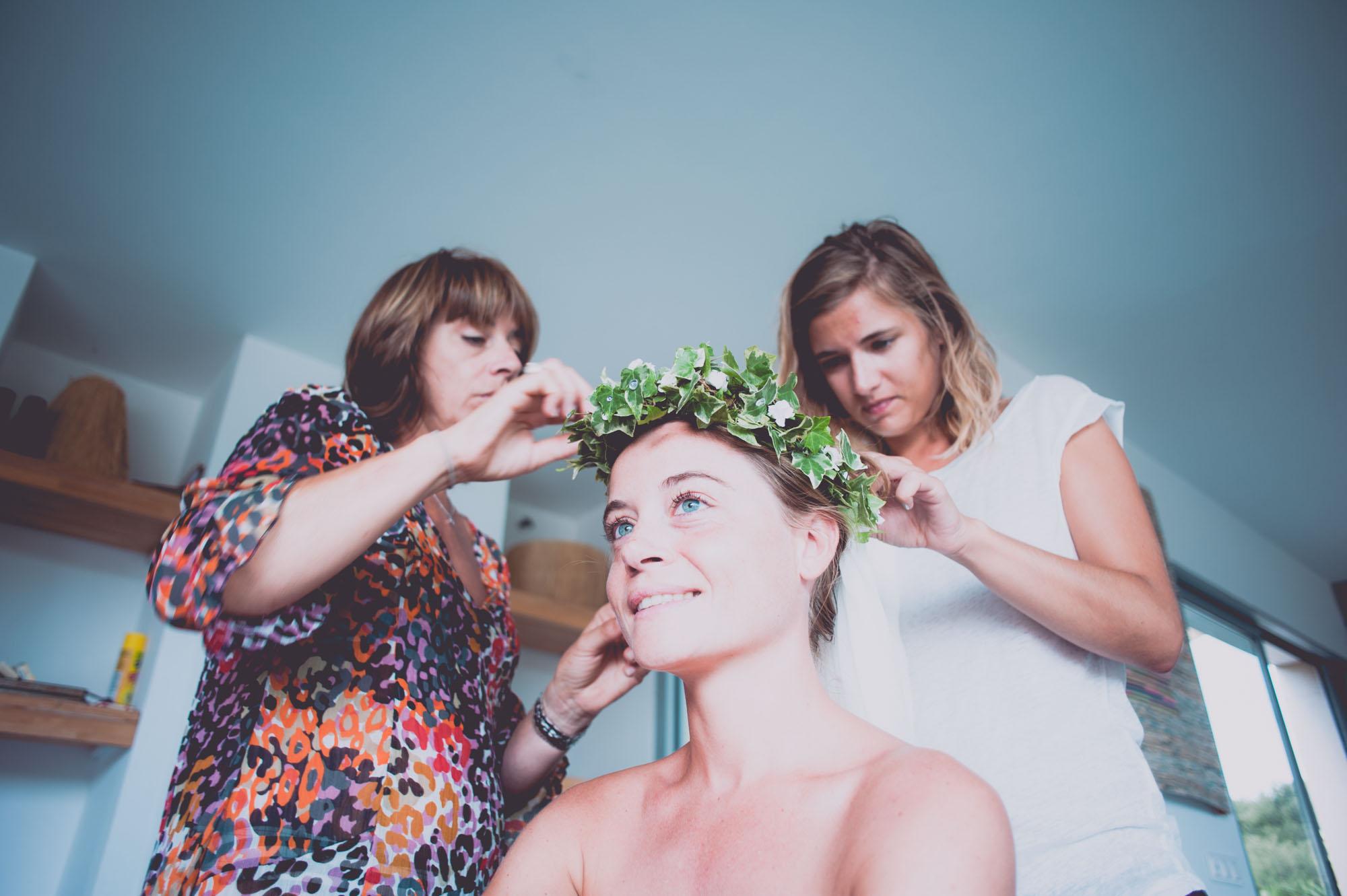 Photographe mariage bohème chic Corse Bonifacio - C et A (6)