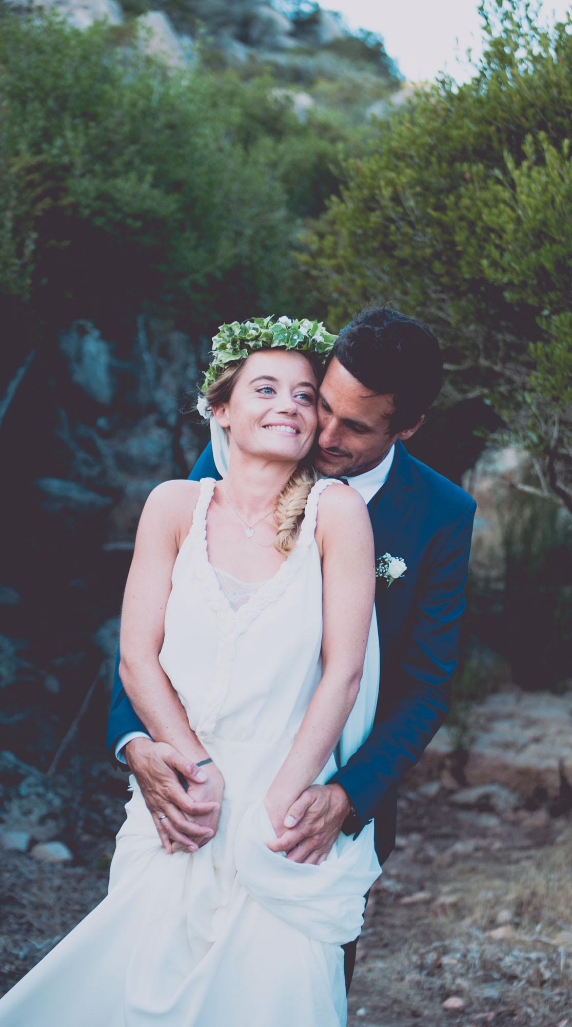 Photographe mariage bohème chic Corse Bonifacio - C et A (66)