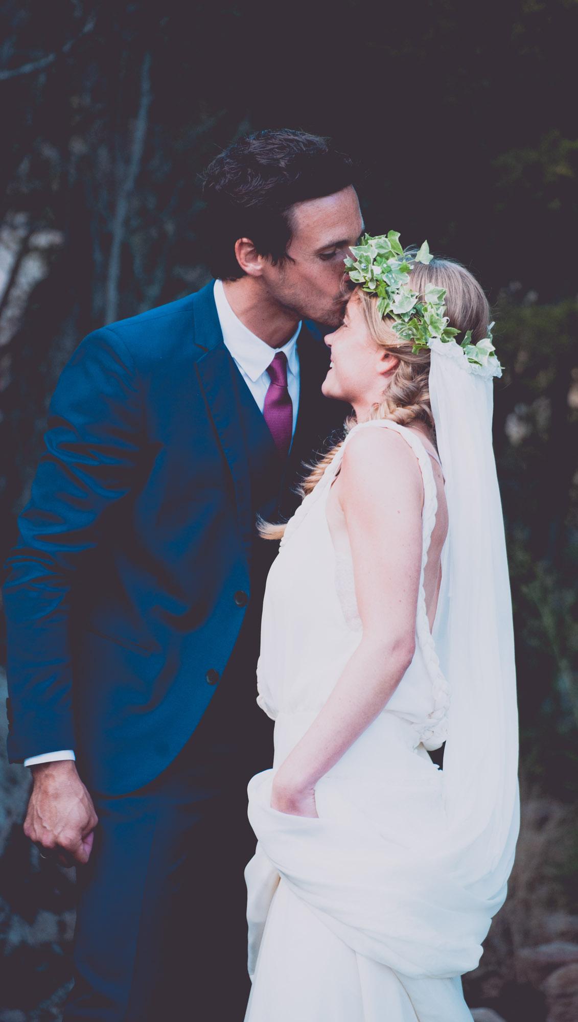 Photographe mariage bohème chic Corse Bonifacio - C et A (67)