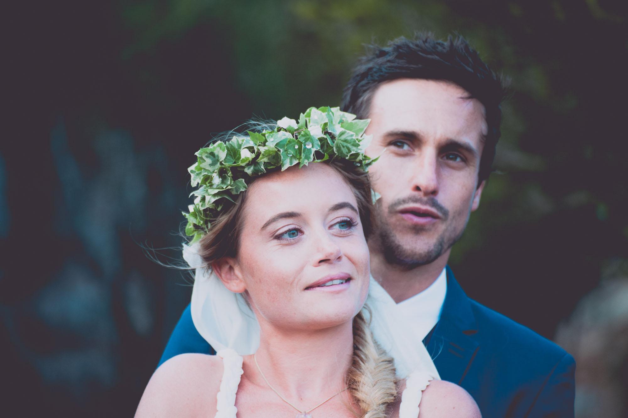 Photographe mariage bohème chic Corse Bonifacio - C et A (69)