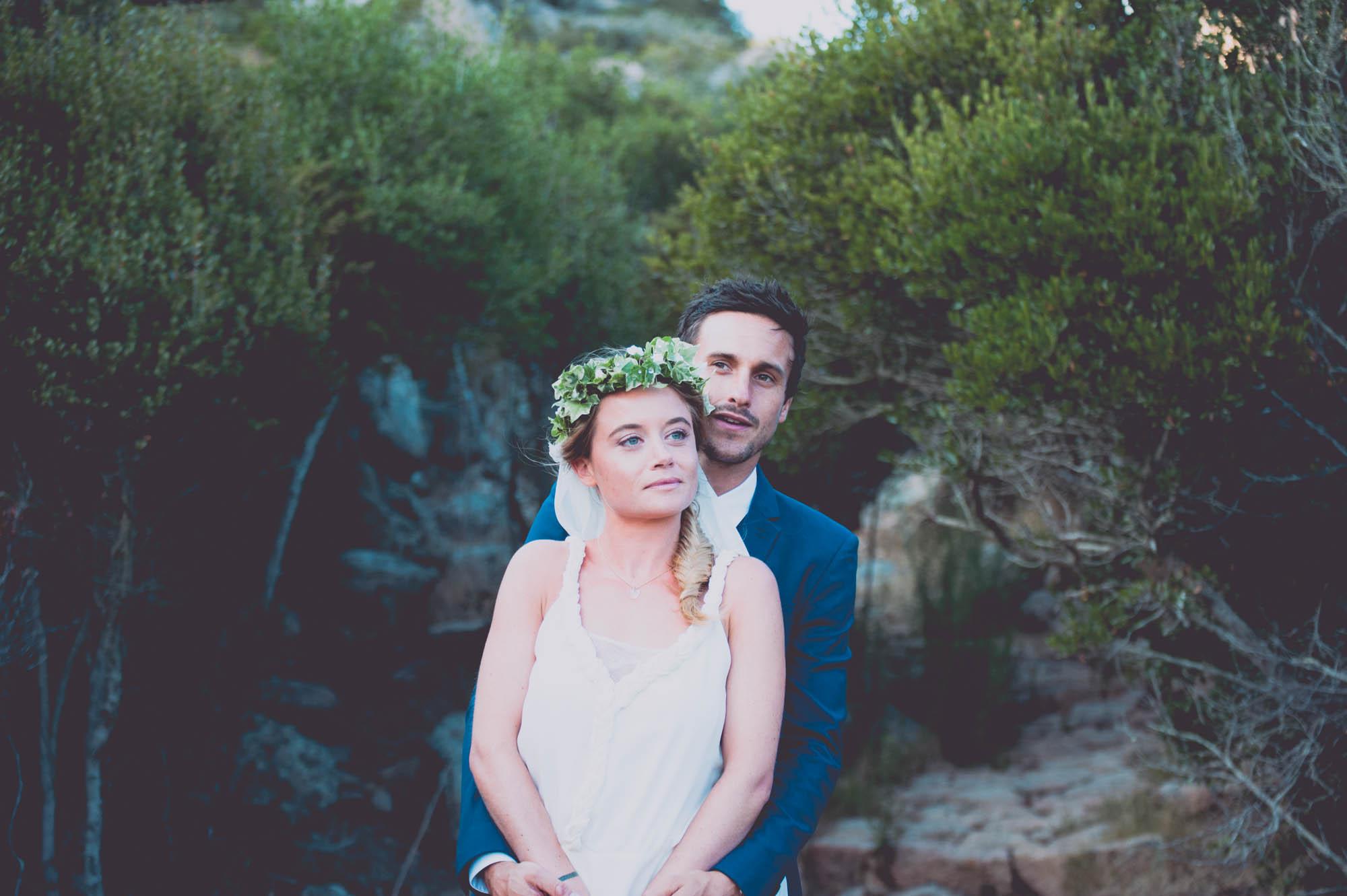 Photographe mariage bohème chic Corse Bonifacio - C et A (70)