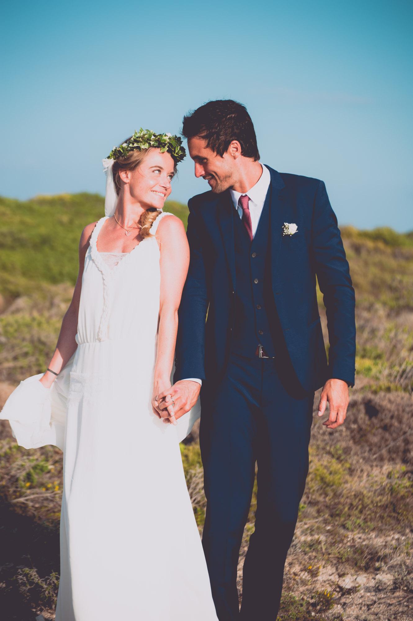 Photographe mariage bohème chic Corse Bonifacio - C et A (71)