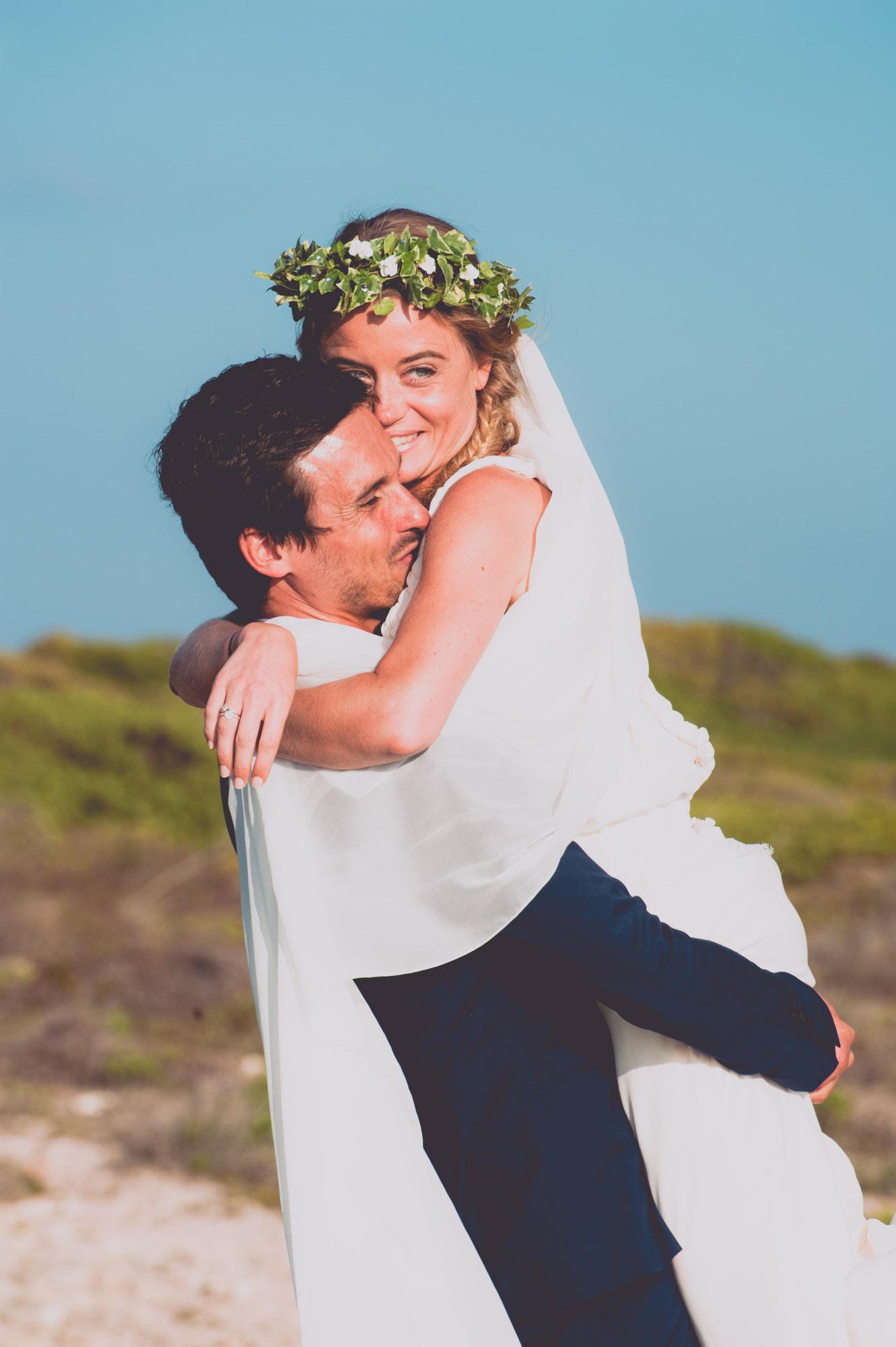 Photographe mariage bohème chic Corse Bonifacio - C et A (73)