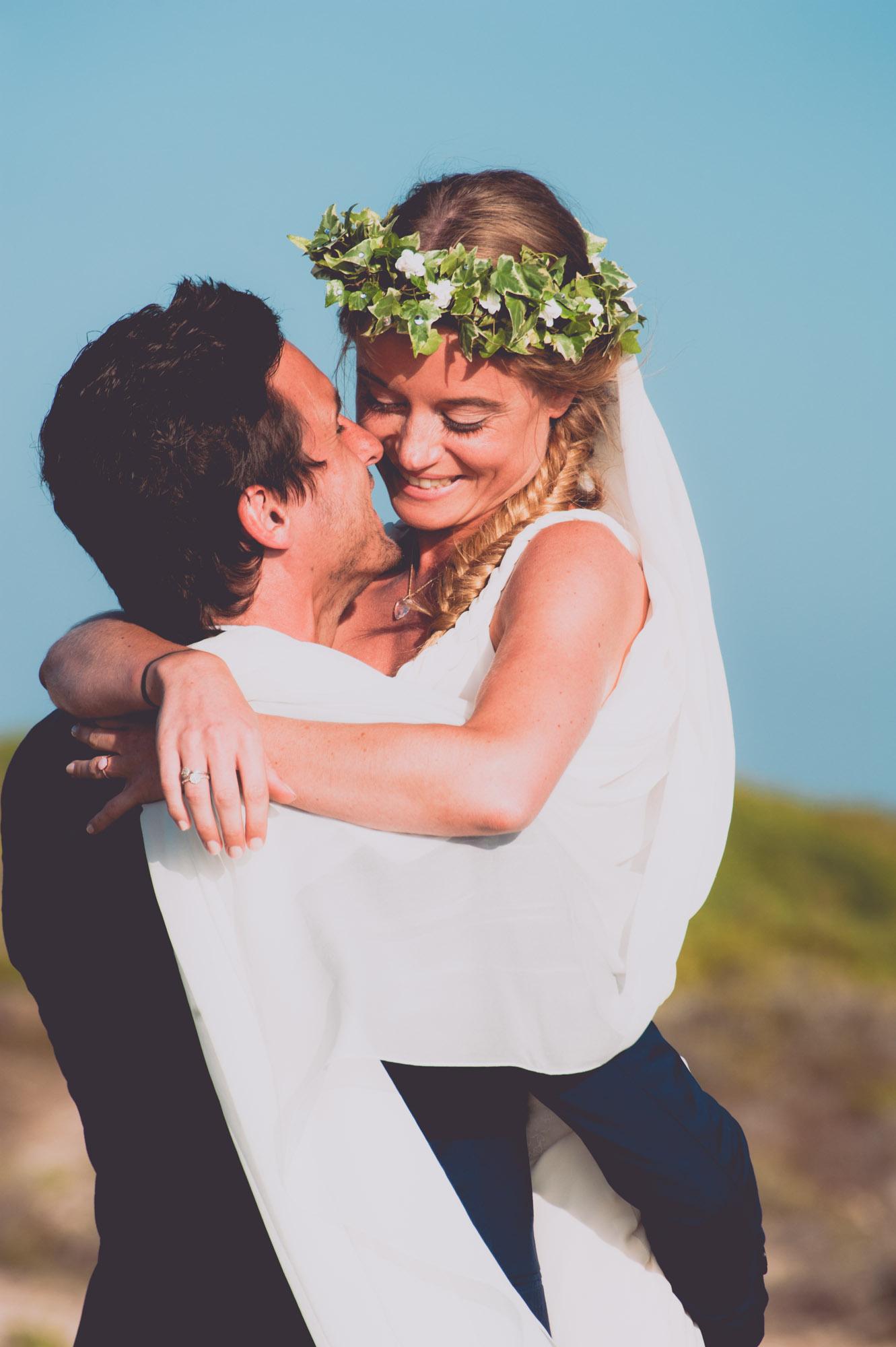 Photographe mariage bohème chic Corse Bonifacio - C et A (74)