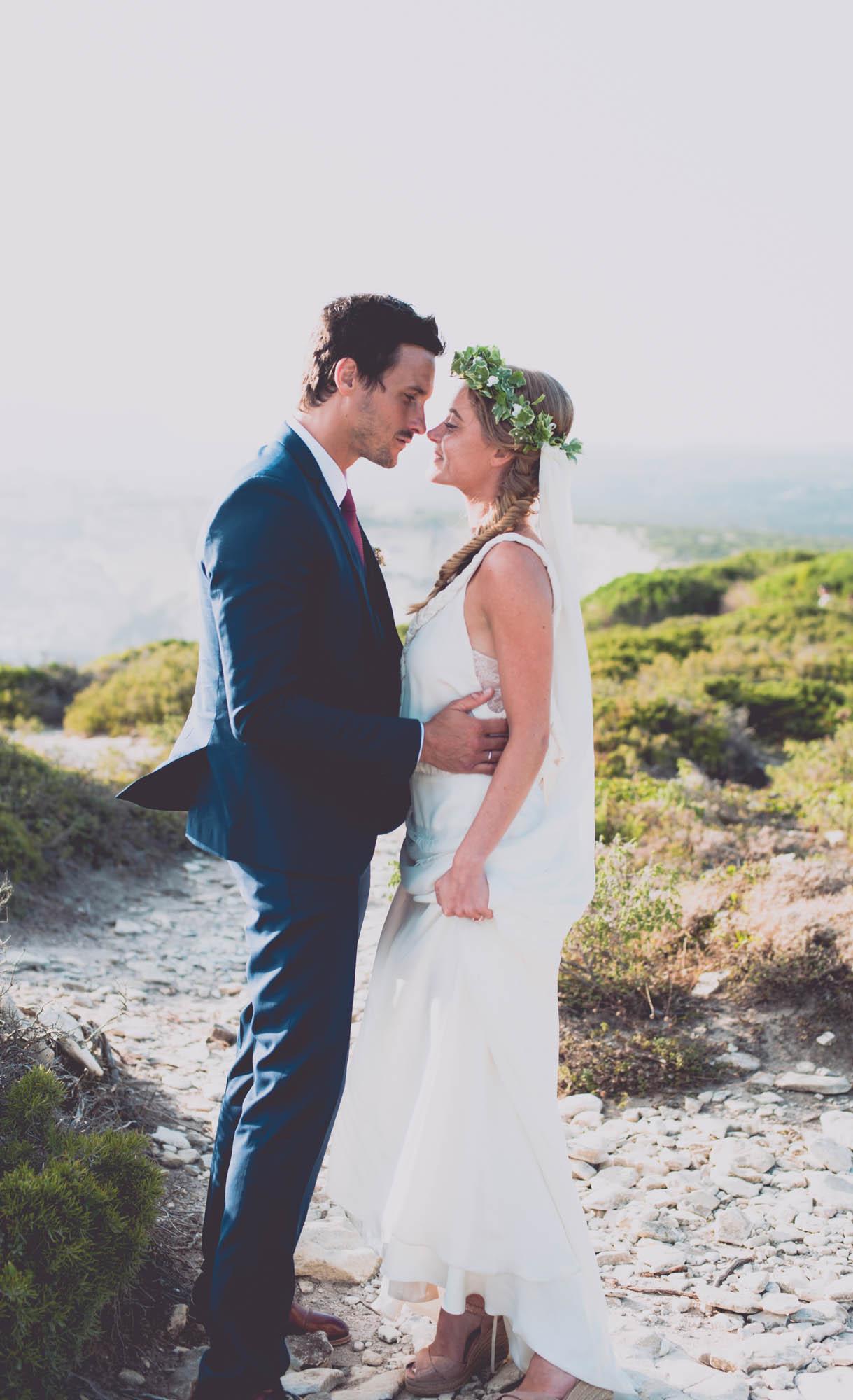 Photographe mariage bohème chic Corse Bonifacio - C et A (78)