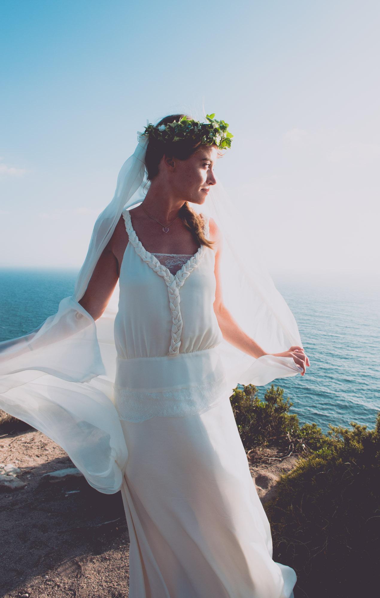 Photographe mariage bohème chic Corse Bonifacio - C et A (82)