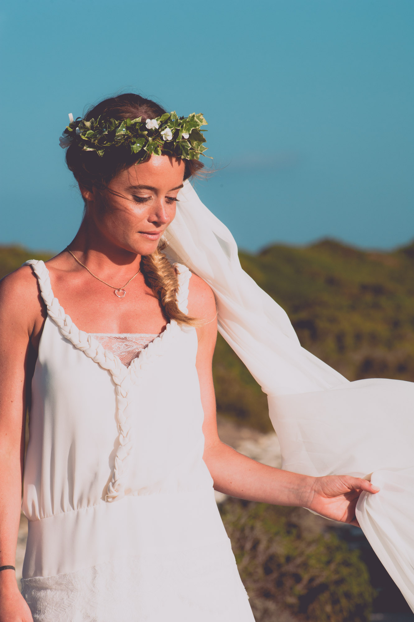 Photographe mariage bohème chic Corse Bonifacio - C et A (87)