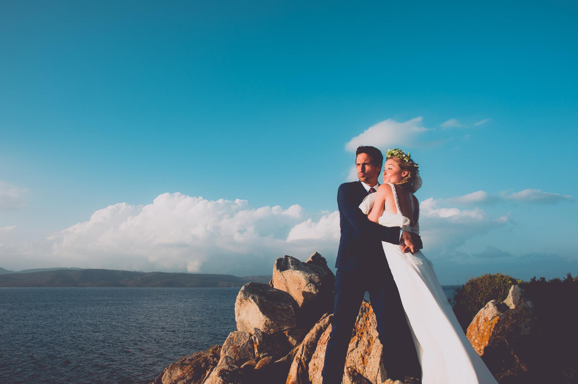 Photographe mariage bohème chic Corse Bonifacio - C et A (91)