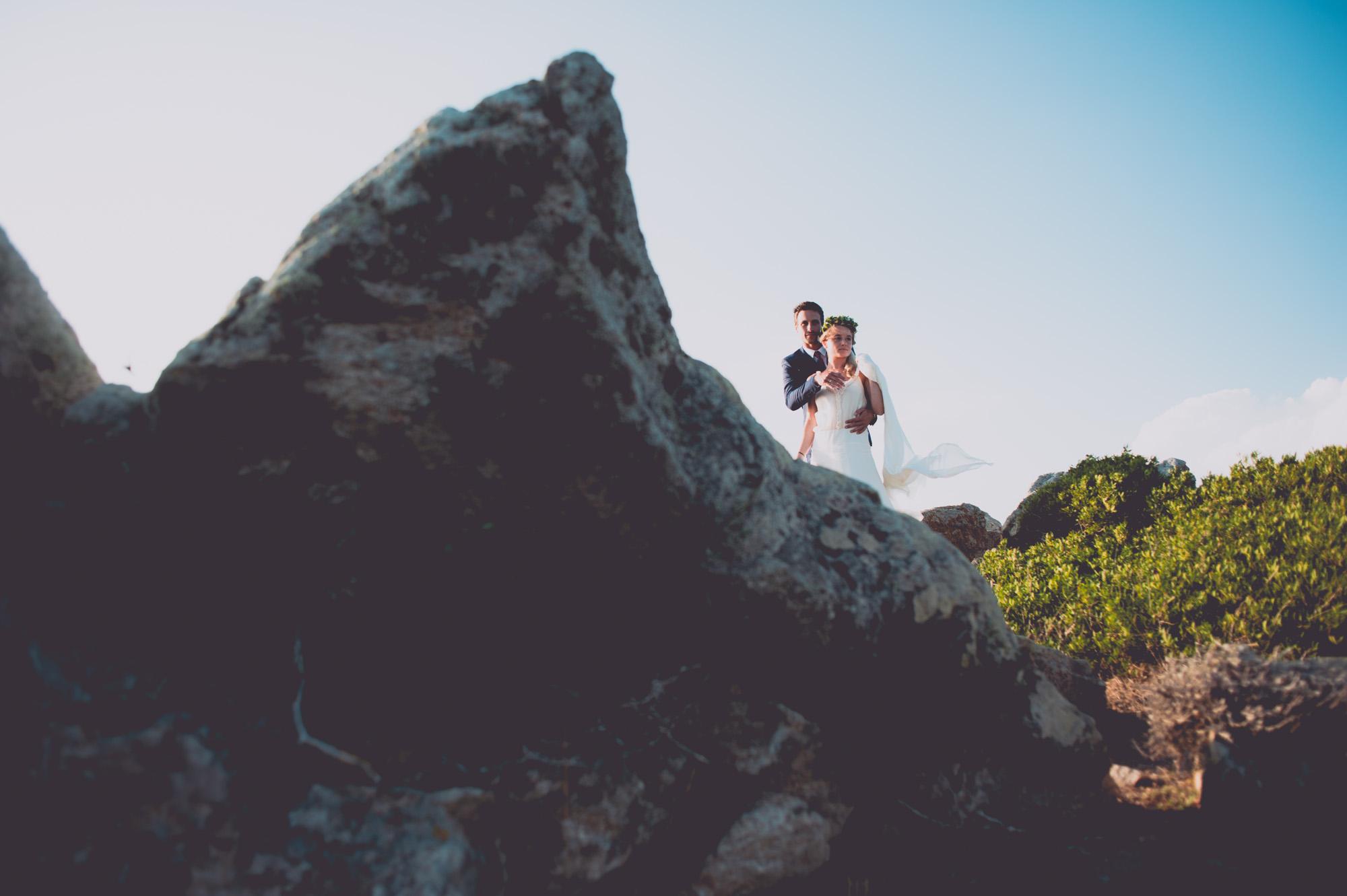 Photographe mariage bohème chic Corse Bonifacio - C et A (92)