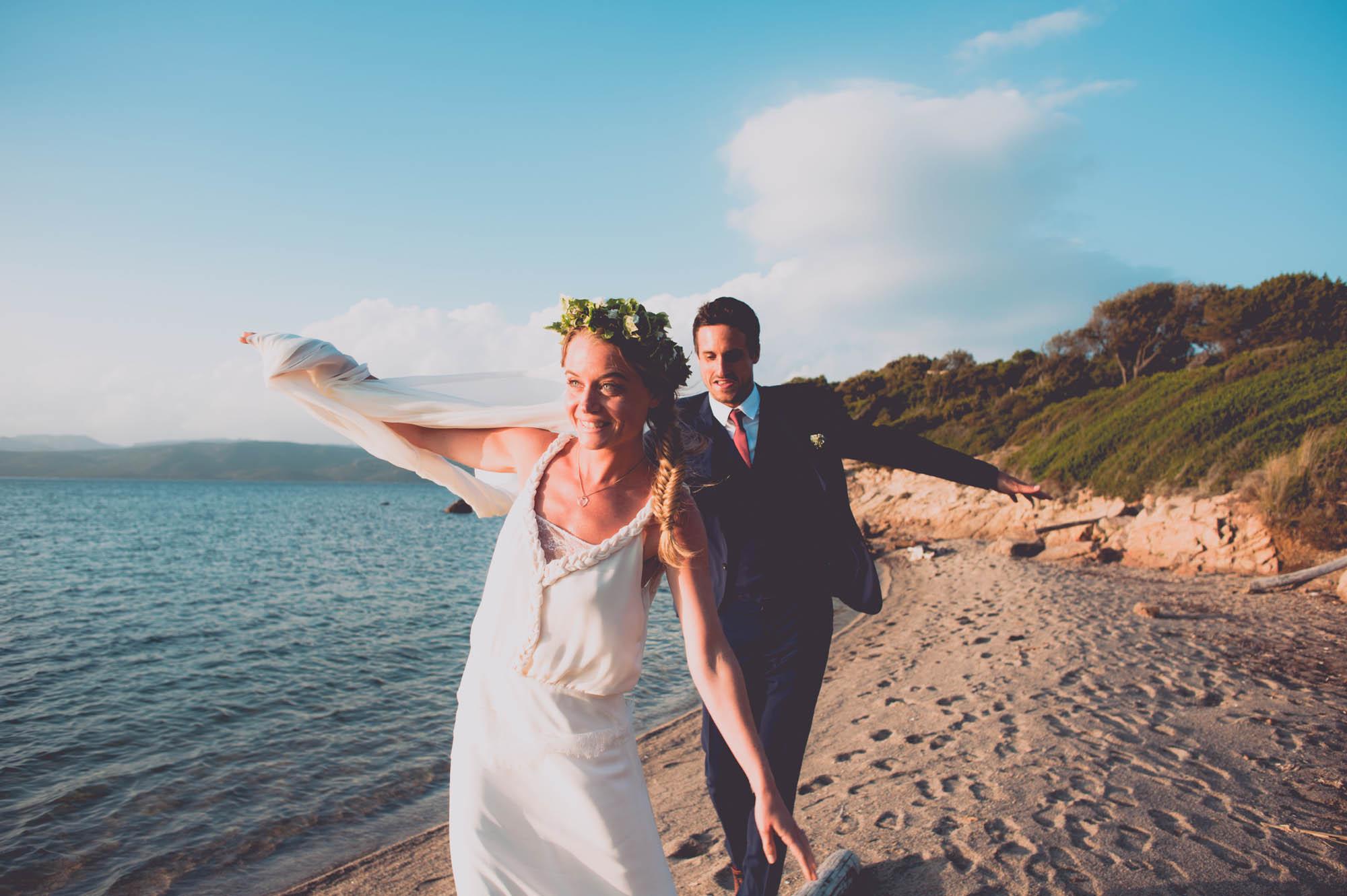 Photographe mariage bohème chic Corse Bonifacio - C et A (94)