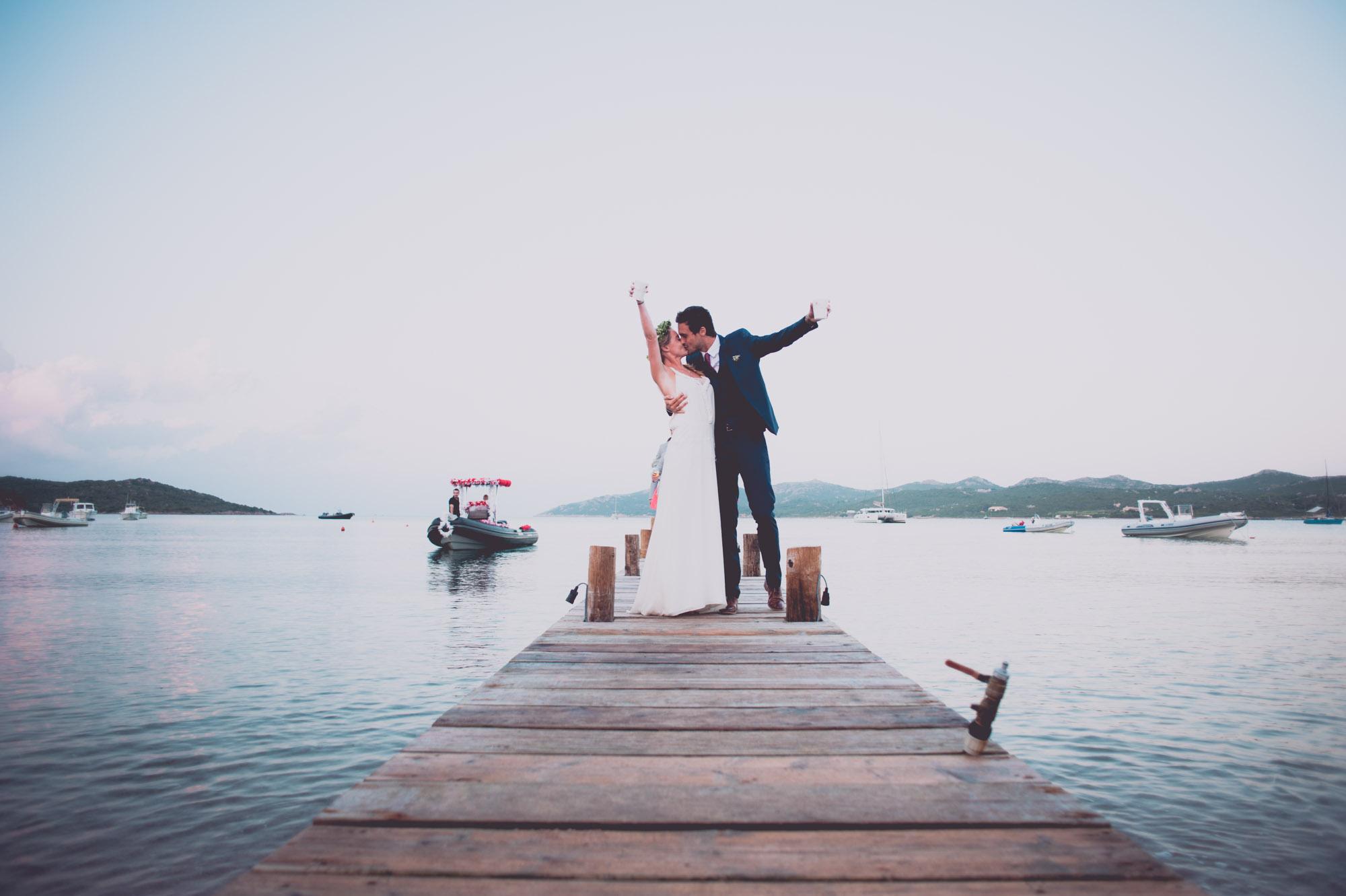 Photographe mariage bohème chic Corse Bonifacio - C et A (97)